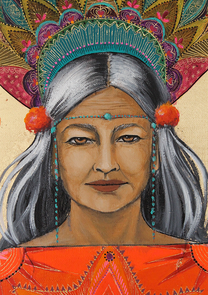 Grand-mère Chamane