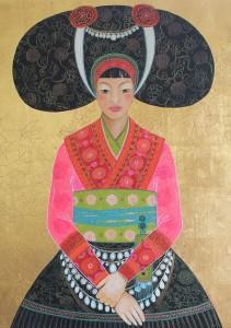 Hmong rose
