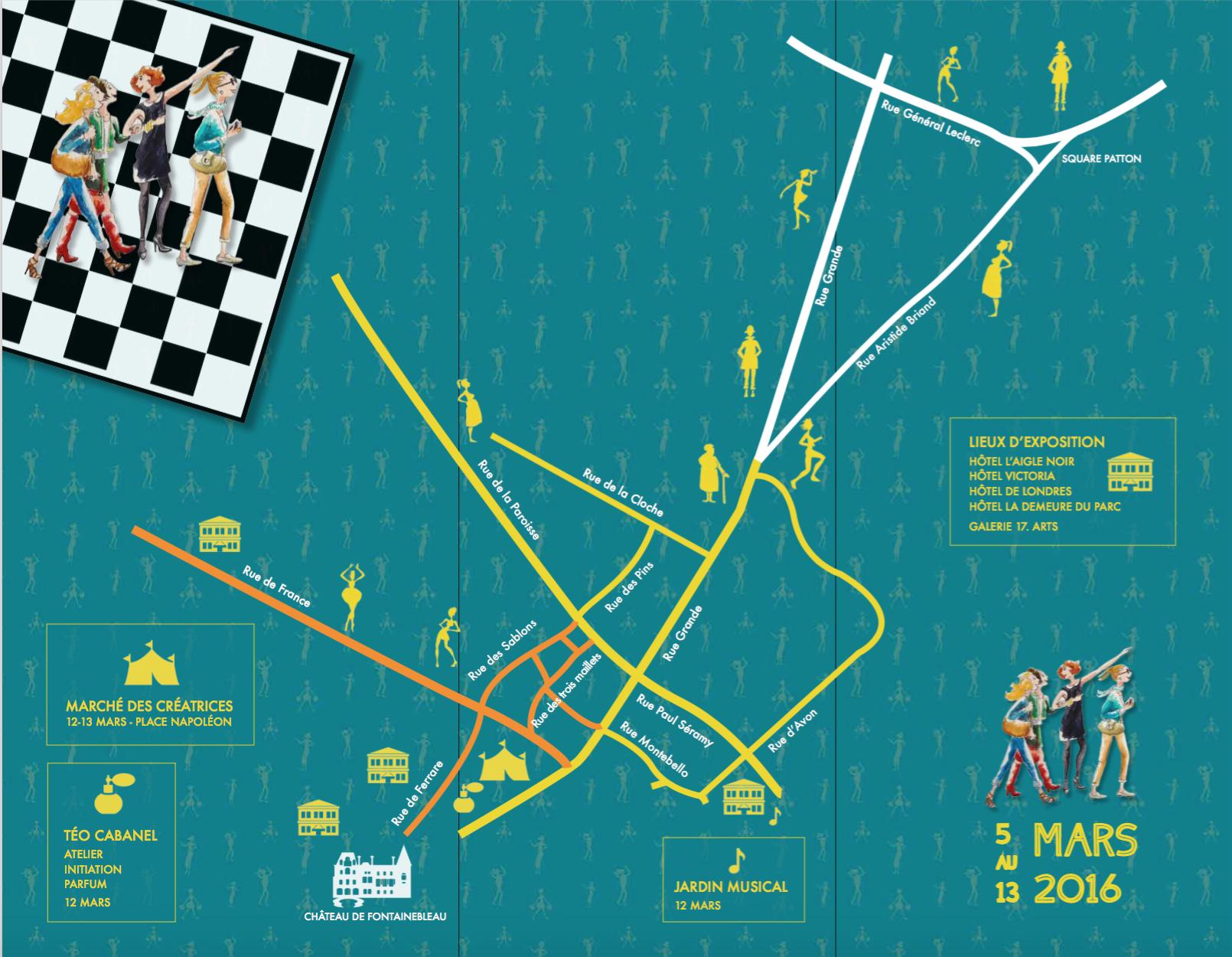 Plan flyer Jeux de Dames 2016