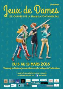 affiche Jeux de Dames 2016